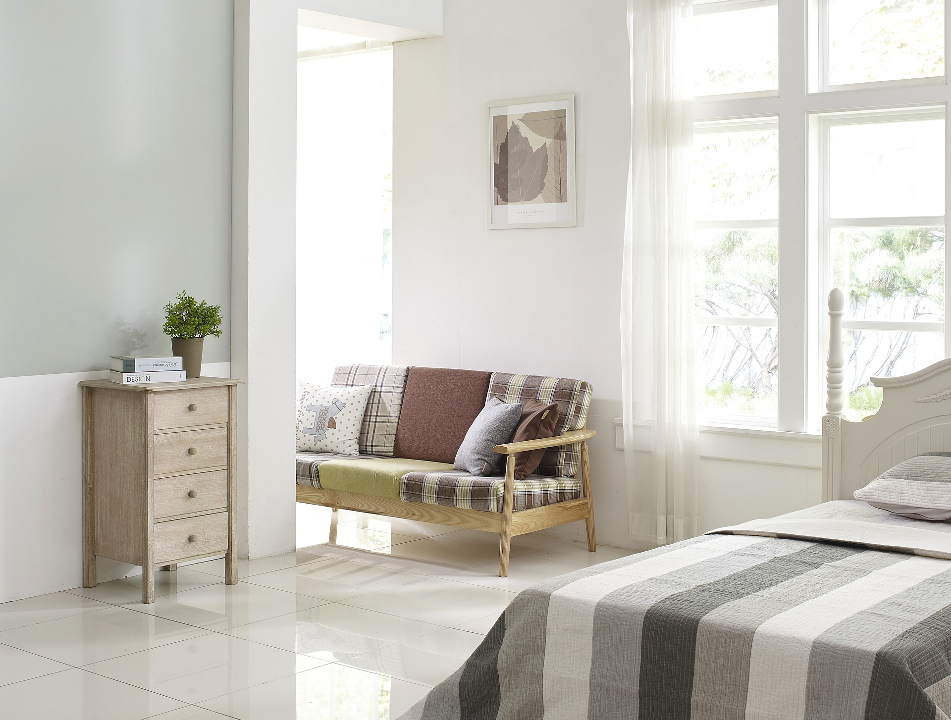 Das Schlafzimmer Ist Unser Ort Der Erholung Und Regeneration. Nicht Nur Das  Bett, Sondern Auch Der Rest Des Raumes Und Auch Der Bodenbelag ...
